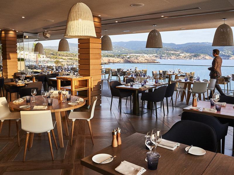 Restaurant vom Luxus Hotel auf Ibiza Hotel 7PINES KEMPINSK