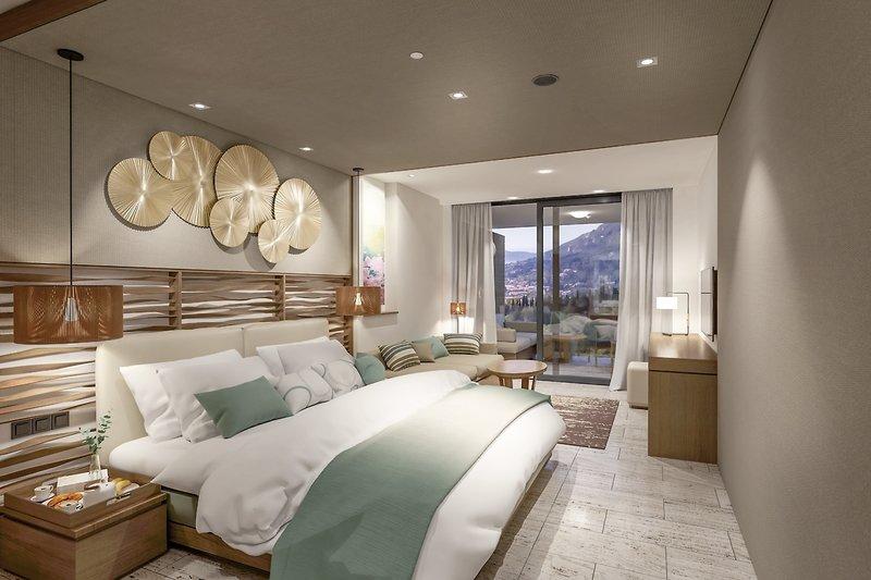 Korfu-Luxuriöses Hotelzimmer BANYAN TREES SCHWESTERMARKE ANGSANA