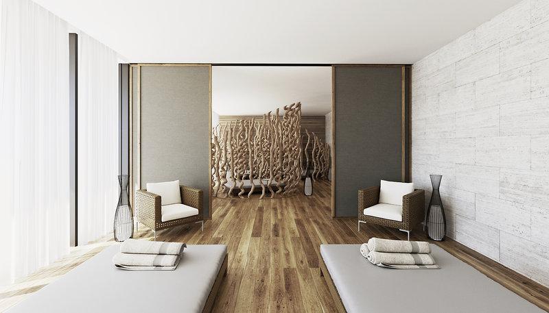 Luxus besonderes Hotelzimmer BANYAN TREES SCHWESTERMARKE ANGSANA.