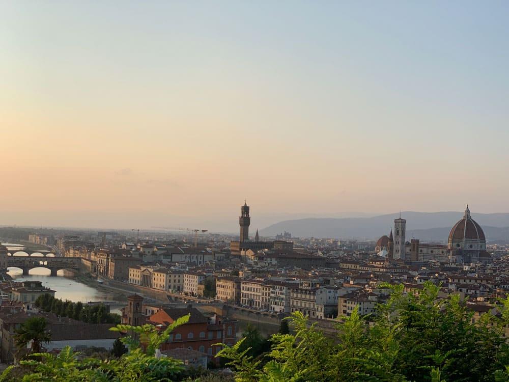 Aussicht vom Michelangelo platz